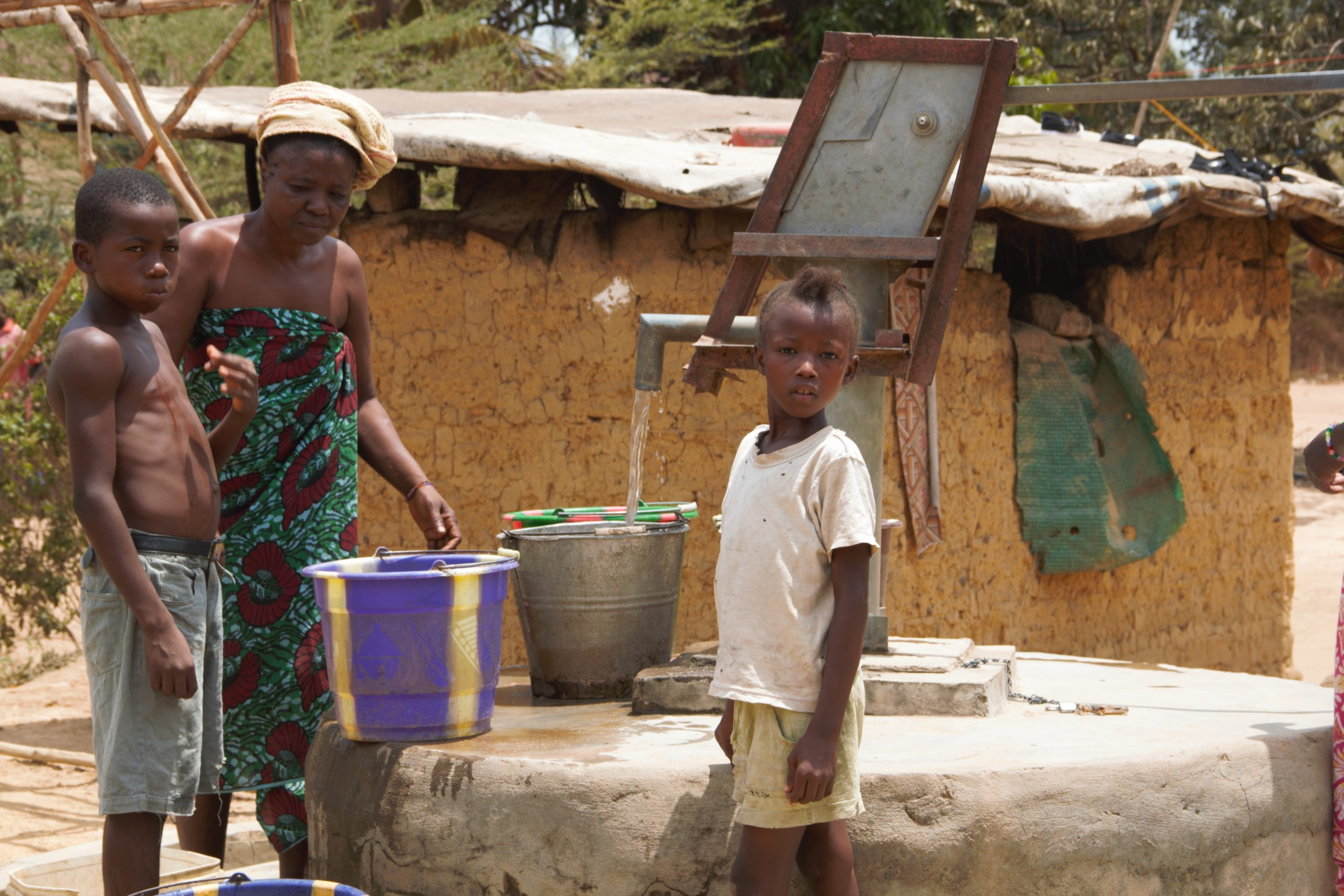 Handpump use in Sierra Leone